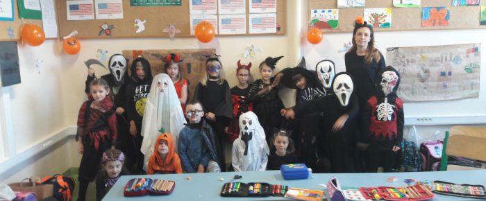 Halloween w klasie 1D