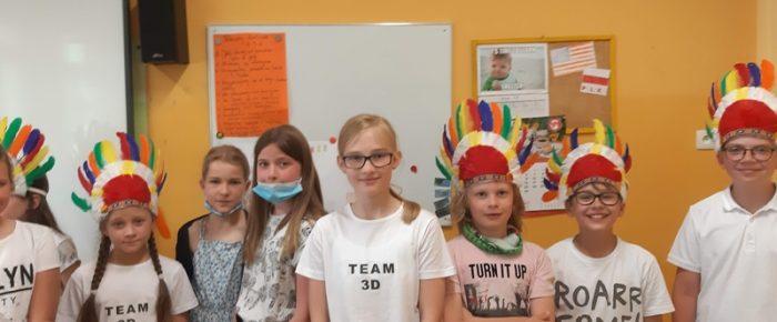 Native Americans – projekt klasy 3d